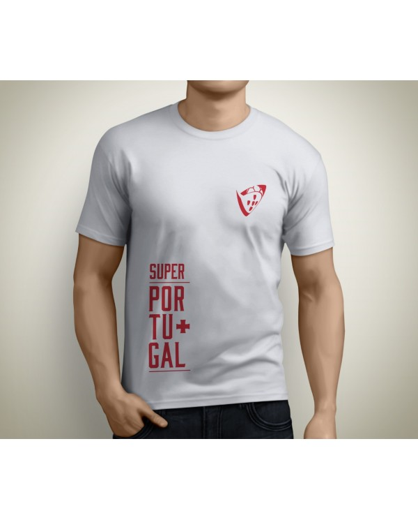 T-shirt SuperPortugal Branca