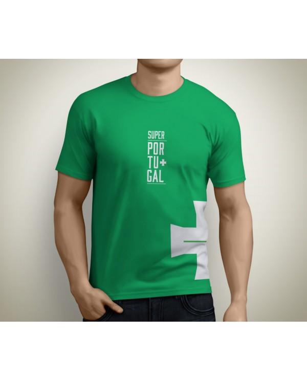 T-shirt SuperPortugal Verde (Cruz)