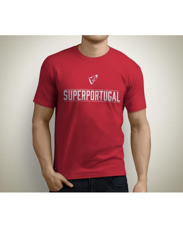 T-shirt SuperPortugal Vermelha